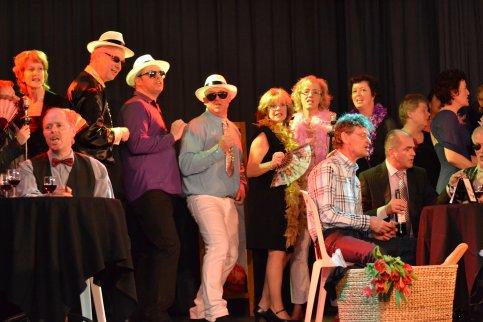 Popkoor Sonority viert feest in Kudelstaart